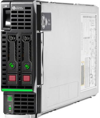 Сервер HP ProLiant BL460c 863446-B21 hp 652605 b21