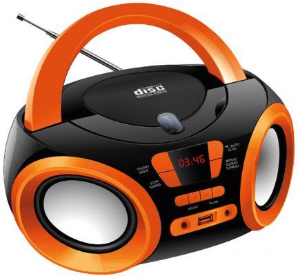 Магнитола Hyundai H-PCD120 черный/оранжевый сплит система hyundai h ar21 07h