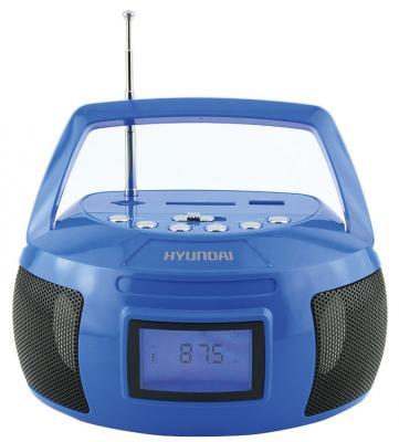 Магнитола Hyundai H-PAS160 синий сплит система hyundai h ar21 07h