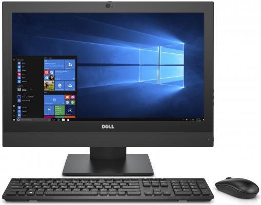 Моноблок Dell Optiplex 5250 21.5 Full HD i5 6500 (3.2)/8Gb/1Tb 7.2k/HDG530/DVDRW/Windows 10 Professional/GbitEth/WiFi/BT/клавиатура/мышь/Cam/черный 1920x1080 пк iru corp 510 mt i5 6500 8gb 1tb 7 2k hdg530 dvdrw w10pro64dwnw7pro64 kb m черный [489395]