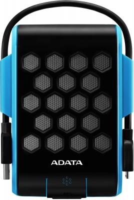 "Внешний жесткий диск 2.5"" USB3.0 2Tb Adata HD720 AHD720-2TU3-CBL синий внешний жесткий диск 2 5 quot usb3 0 2tb adata hd700 ahd700 2tu3 cbl синий"
