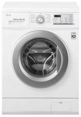 Стиральная машина LG FH0H3ND1 белый стиральная машина узкая lg f12u1hbs4