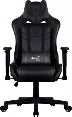 Кресло компьютерное игровое Aerocool AC220 AIR-B черное с перфорацией 4713105968378 ac220 rgb b