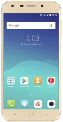Смартфон ZTE Blade A6 золотистый 5.2 32 Гб LTE Wi-Fi GPS 3G Blade A6 gold смартфон zte blade a476 белый 5 8 гб lte wi fi gps 3g