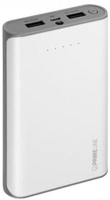 Внешний аккумулятор Power Bank 12000 мАч Deppa Prime Line белый цена 2017