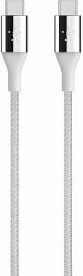 Кабель Type-C 1.2м Belkin F2CU050bt04-SLV круглый цена