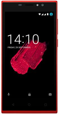 "Смартфон Prestigio Muze C5 красный 5"" 8 Гб Wi-Fi GPS 3G"