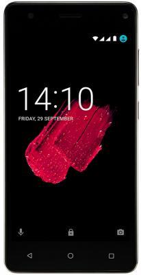 Смартфон Prestigio Grace P5 золотистый 5 8 Мб GPS 3G Wi-Fi PSP5515DUOGOLD планшет prestigio multipad grace 3118 pmt31183gccis black mediatek mt8321 1 2 ghz 1024mb 8gb wi fi bluetooth cam 8 0 1280x800 android