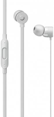 Наушники Apple Beats urBeats3 серебристый наушники apple beats solo 2 luxe edition серебристый mla42ze a