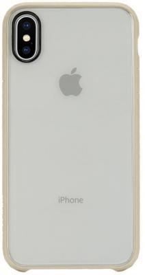 Накладка Incase Pop Case для iPhone X прозрачный золотой INPH190382-GLD