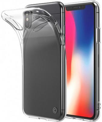 Накладка LAB.C Slim Soft для iPhone X прозрачный LABC-197-CR чехол для iphone interstep для iphone x soft t metal adv красный