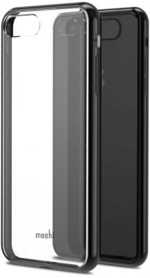 Накладка Moshi Vitros для iPhone 8 Plus iPhone 7 Plus прозрачный чёрный 99MO103033 чехол накладка для iphone 6 ozaki o coat 0 3 jelly oc555tr пластик прозрачный