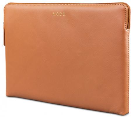 """Чехол-конверт для ноутбука MacBook Air 13"""" dbramante1928 MacBook Air натуральная кожа оранжевый цена и фото"""