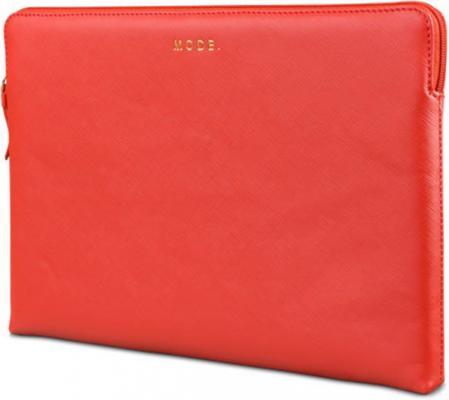 """Чехол-конверт для ноутбука MacBook Air 13"""" dbramante1928 MacBook Air натуральная кожа красный цена и фото"""
