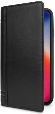 Чехол-книжка Twelve South Journal для iPhone X чёрный 12-1743 чехол twelve south bookbook для iphone 5 в спб