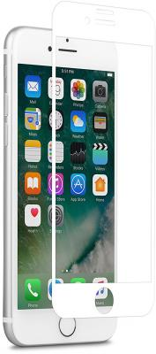 Защитное стекло Moshi IonGlass, белая рамка для iPhone 7 iPhone 8 99MO096002