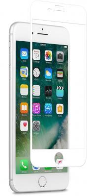 Защитное стекло Moshi IonGlass, белая рамка для iPhone 8 Plus iPhone 7 Plus 99MO096004 цена