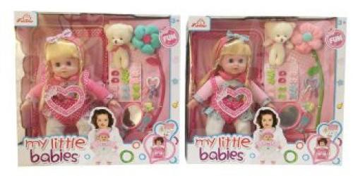 Кукла Shantou Gepai 11065 36 см со звуком кукла shantou gepai my baby 30 см со звуком пьющая писающая