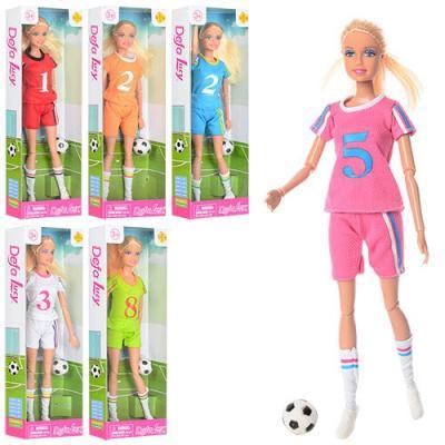 Кукла Defa Lucy Спортивное лето, шарнирная, в ассорт., кор. кукла defa lucy 20955