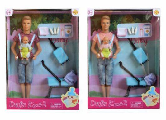 Кукла Defa Kewin Путешествие, 2 куклы, в ассорт., кор. кукла defa lucy 61008a