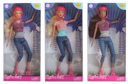 Кукла Defa Lucy На роликах, шарнирная, в ассорт., кор. defa toys кукла lucy happy wedding цвет платья розовый