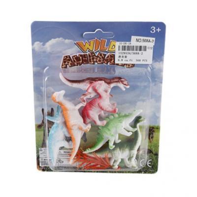 Набор фигурок Shantou Gepai Динозавры 568A-2 набор фигурок shantou gepai динозавры 7001 5