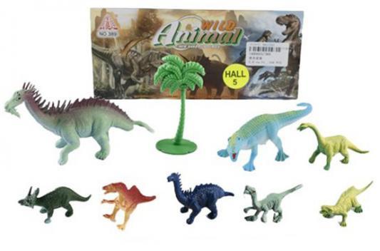 Набор фигурок Shantou Gepai Динозавры 389 набор фигурок little zu динозавры 90050в