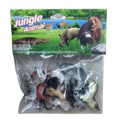 Набор фигурок Shantou Gepai Дикие животные 5 см 635671 набор фигурок shantou gepai домашние животные 4 см 866 c31