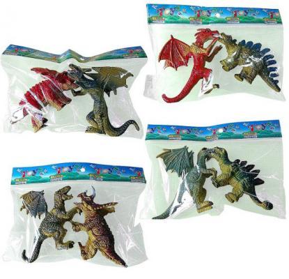 Набор фигурок Shantou Gepai Динозавры 7001-5
