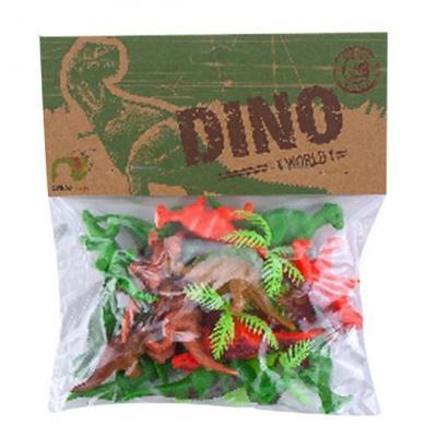 Набор фигурок Shantou Gepai Динозавры 200069616 набор фигурок shantou gepai дикие животные