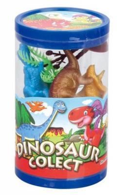 Набор фигурок Shantou Gepai Динозавры 200069633 набор фигурок little zu динозавры 90050в