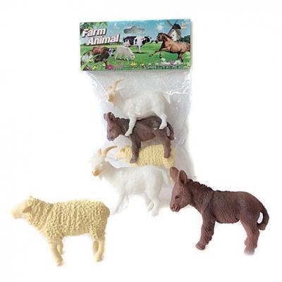 цена на Набор фигурок Shantou Gepai Farm animal 8 см A003