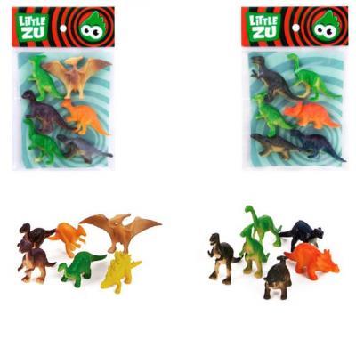 Набор фигурок Little Zu Динозавры 90050В набор фигурок little zu динозавры 90050в