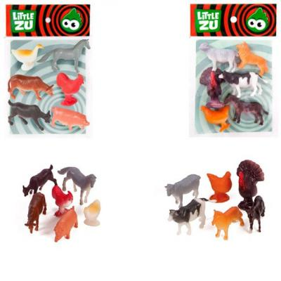 Набор фигурок Little Zu Домашние животные 90051В набор фигурок little zu динозавры 90050в
