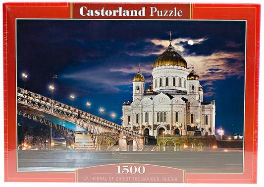 Пазл Кастор Храм Христа Спасителя 1500 элементов