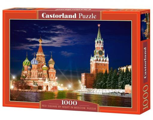 Пазл Кастор Красная площадь, Москва 1000 элементов пазл кастор озеро канада 1000 элементов