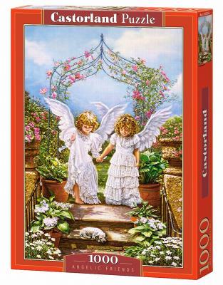 Пазл Кастор Друзья Ангелы 1000 элементов пазл кастор озеро канада 1000 элементов