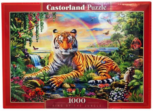 Пазл Кастор Король джунглей 1000 элементов пазл кастор озеро канада 1000 элементов