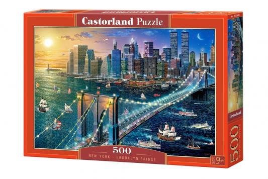 Пазл Кастор Бруклинский мост 500 элементов пазлы castorland пазл храм в санкт петербурге 500 элементов