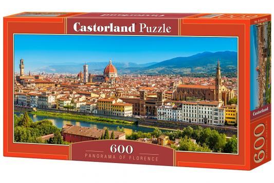 Купить Пазл Кастор Панорама Флоренция 600 элементов, Пазлы-картины