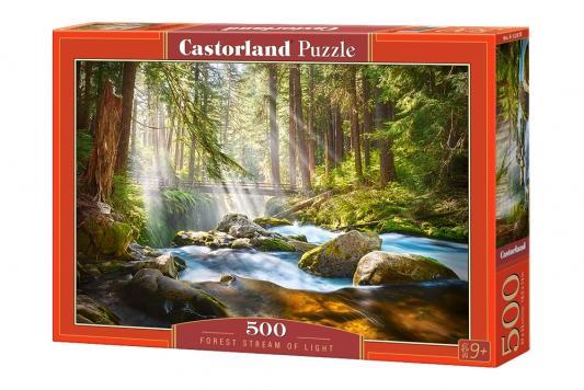 Купить Пазл Кастор Свет в лесу 500 элементов, Пазлы-картины