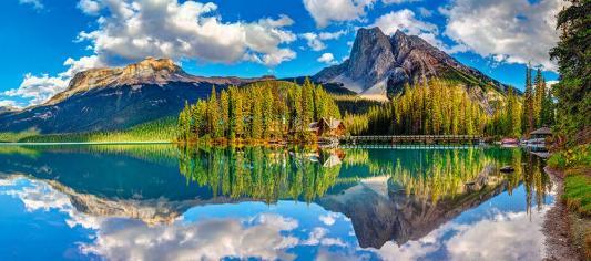 Пазл Кастор Изумрудное озеро 600 элементов пазл кастор озеро канада 1000 элементов