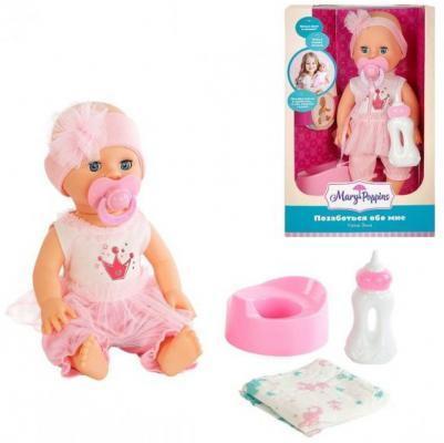 Кукла Элли 33см Позаботься обо мне mary poppins кукла элли позаботься обо мне интерактивная 30 см