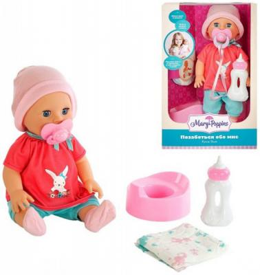 Кукла Элли 33см Позаботься обо мне mary poppins mary poppins кукла интерактивная позаботься обо мне элли зайка