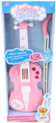 Скрипка детская э/ф, свет, звук, в ассорт., батер.не вх.в компл., кор.