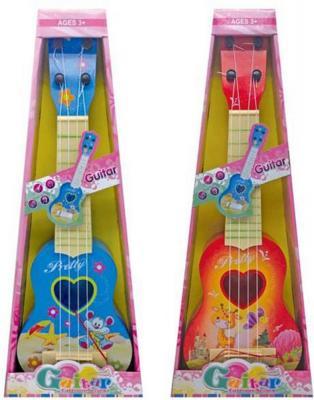 Гитара Настроение, 44см, пласт., в ассорт., кор. игрушка shantou gepai гитара 941731 7237