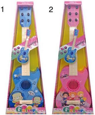 Гитара Компания, 60 см, пласт., в ассорт., кор.