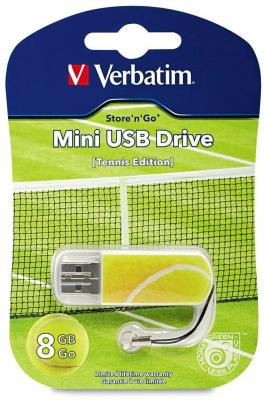 Флешка USB 8Gb Verbatim Mini Sport Edition 98511 USB2.0 теннис