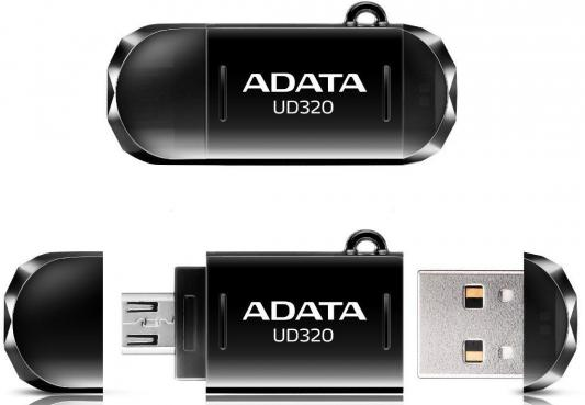 Флешка USB 64Gb A-Data UD320 USB2.0/MicroUSB AUD320-64G-RBK черный цены онлайн