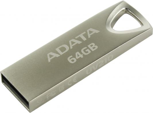 Фото - Флешка USB 64Gb A-Data UV210 USB2.0 AUV210-64G-RGD серебристый кпб a 64